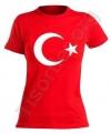 Bayan Türk Bayrağı T-shirt